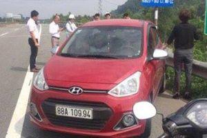 Kết đắng của nữ tài xế lái ô tô chạy ngược chiều trên cao tốc