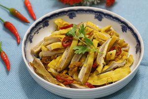 Món ngon mỗi ngày: Trổ tài làm món dạ dày hấp sả, lá chanh đãi cả nhà