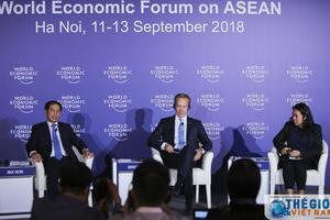 Họp báo thông báo kết quả WEF ASEAN 2018