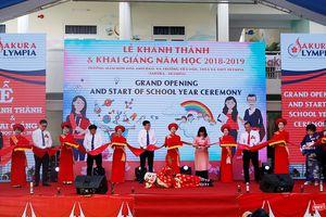 Đà Nẵng khai trương Hệ thống giáo dục liên cấp quốc tế Sakura–Olympia