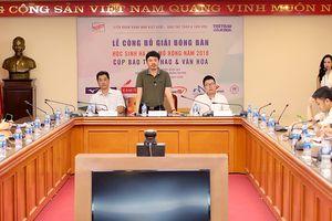 Hơn 200 VĐV dự Giải bóng bàn học sinh Hà Nội mở rộng 2018