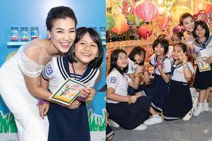 Á hậu Hoàng Oanh trở thành đại sứ của 'Lọ đựng tình thương', kêu gọi người đỡ đầu cho gần 3000 trẻ mồ côi