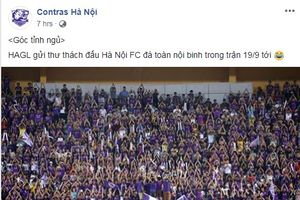 Lãnh đạo HAGL trả lời việc 'thách' Hà Nội FC đá toàn nội binh