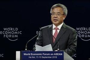Trung Quốc cam kết cùng WEF phản đối chủ nghĩa bảo hộ