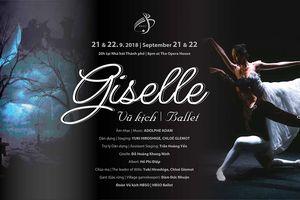 Công diễn vở ballet kinh điển Giselle tại TP.HCM