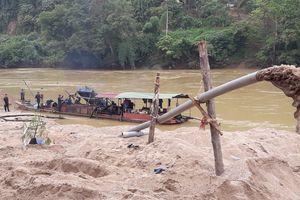 Lào Cai: Bắt giữ, xử lý nghiêm trường hợp khai thác cát trái phép tại Bảo Yên