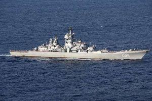 Lầu Năm Góc 'lạnh người' tàu chiến Nga sát sườn Syria