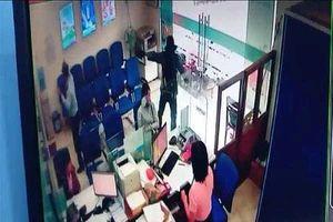 Camera ghi li din bin v cp ngân hàng táo tn  Tin Giang