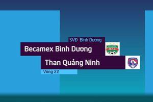 Highlights CLB Bình Dng - CLB Qung Ninh: Trng tài b còi