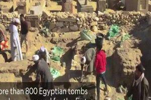 Tìm thấy 800 ngôi mộ Ai Cập 4.000 năm ở 'thành phố của người chết'
