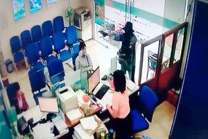 Cận cảnh tên cướp ngân hàng ở Tiền Giang