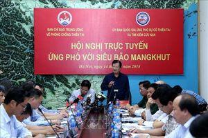 Chủ động ứng phó siêu bão Mangkhut, đảm bảo an toàn tính mạng và tài sản của nhân dân