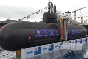 Hàn Quốc 'trình làng' tàu ngầm 3.000 tấn tự đóng đầu tiên