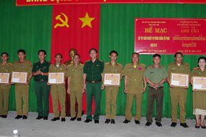 Bế mạc lớp tập huấn nghiệp vụ phòng, chống tội phạm cho Công an 2 tỉnh Attapeu và Sekong