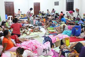 Philippines s tán dân trc siêu bão Mangkhut