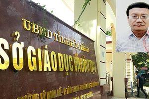 Bt tm giam trng phòng Kho thí S GD&T Hòa Bình