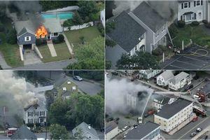 39 ngôi nhà ở Mỹ phát nổ cùng lúc vì rò rỉ khí gas