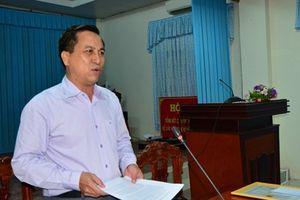 Cách chức Phó bí thư Thành ủy Trà Vinh Diệp Văn Thạnh