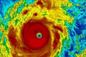 Thông tin mới nhất về đường đi của siêu bão Mangkhut, sức gió 220km/h