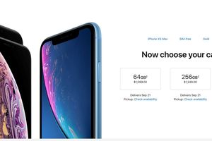Apple chính thức cho phép đặt hàng iPhone Xs và iPhone Xs Max