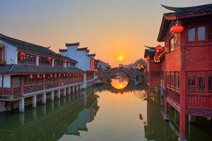 10 cổ trấn Trung Quốc đẹp như phim nhất định phải đi thu này