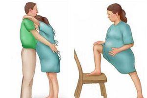 10 tư thế giảm đau khi chuyển dạ mà mẹ bầu cần biết
