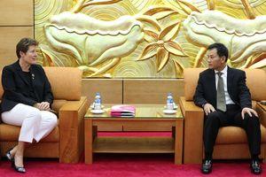 Tổ chức Plan International sẽ tiếp tục triển khai các chương trình, dự án tại Việt Nam