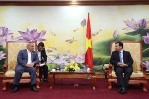 Thứ trưởng Lê Quang Mạnh làm việc với Thị trưởng thành phố Gold Coast, Ốt-xtrây-li-a