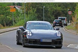 Porsche 911 GT3 2020 sẽ không còn cánh gió đuôi cỡ lớn ấn tượng