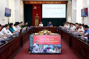ng phó vi bão Mangkhut: Ninh Bình tng cng thông tin phòng chng siêu bão