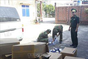 Quảng Ninh: Bắt giữ số lượng lớn thuốc lá điếu nhập lậu