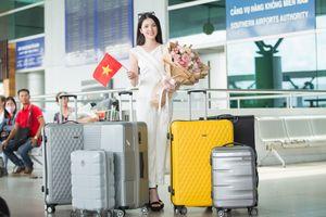 Thúy Vi mang 145kg hành lý thi 'Hoa hậu châu Á Thái Bình Dương'