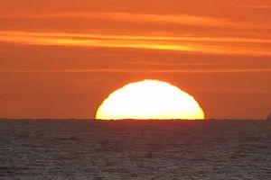 2 ngày duy nhất trong năm Mặt Trời mọc ở đúng hướng đông
