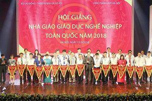Khai mạc Hội giảng nhà giáo giáo dục nghề nghiệp toàn quốc năm 2018