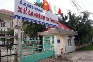 Cảnh sát truy tìm 25 học viên cai nghiện trốn trại ở Cà Mau