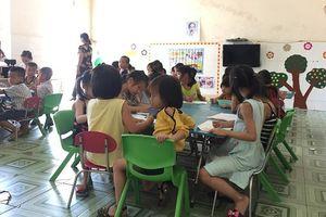 Hà Tĩnh: 'Gỡ rối' công tác bán trú bậc mầm non, tiểu học