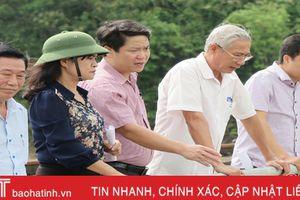 Cần sớm ban hành bản đồ ngập lụt trên địa bàn huyện Hương Khê