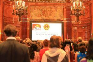 Tiệc chiêu đãi kỷ niệm Quốc khánh Việt Nam tại Cộng hòa Áo