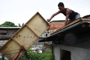 Chùm ảnh: Philippines 'gồng mình' chuẩn bị ứng phó siêu bão Mangkhut