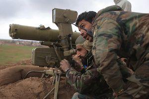 Quân đội Syria tấn công IS gần căn cứ Mỹ tại al-Tanf