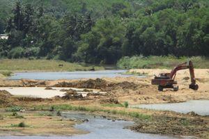 UBND tỉnh Bình Định chỉ đạo kiểm tra, xử lý việc khai thác khoáng sản trái phép của Công ty TNHH Tín Đại Lộc