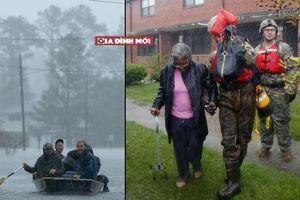 Siêu bão Florence tàn phá bờ biển Mỹ: Những hình ảnh mới nhất về hậu quả bão