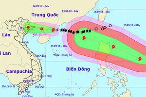Công điện khẩn về chủ động phòng, chống bão Mangkhut
