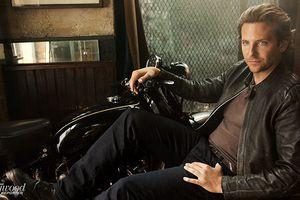 Nam tài tử Bradley Cooper 'đốn tim' phái đẹp với vẻ ngoài lãng tử