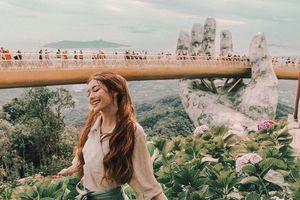 Loạt ảnh check-in Việt Nam thơ mộng của 'hot girl tóc mây'