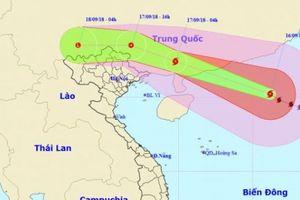 Tin bão mới nhất ngày 16/9: Bão Mangkhut đổ bộ Trung Quốc chiều tối nay, sẽ có mưa rất to