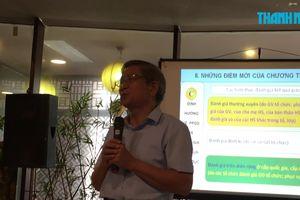 GS Nguyễn Minh Thuyết 'ngạc nhiên' với ĐBQH vì chuyện sách giáo khoa