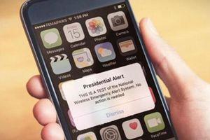 Mỹ kiểm tra hệ thống nhắn tin cảnh báo tình huống khẩn cấp