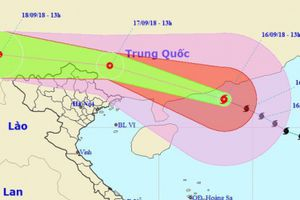 Ảnh hưởng bão số 6, đêm nay một số tỉnh Đông Bắc Bộ có gió giật mạnh