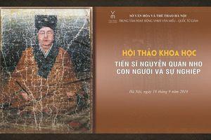 Hội thảo khoa học 'Tiến sĩ Nguyễn Quán Nho – Con người và sự nghiệp'